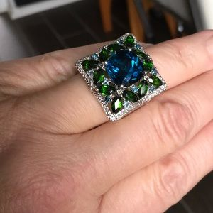 Multi stone Cocktail Ring